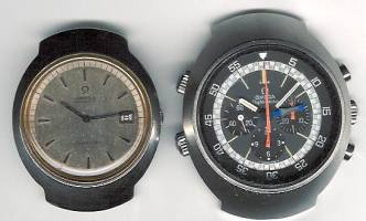 Seamaster 166.090 left, flightmaster 911 right